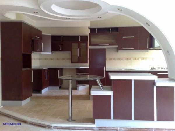 image شیک ترین مدل کابینت های MDF آشپزخانه ایرانی