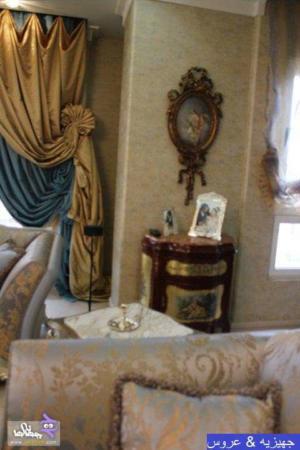 image مدل های شیک و سنتی چیدمان جهیزیه عروس