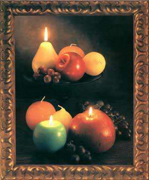 image, آموزش مرحله ای ساخت شمع شکل میوه ها