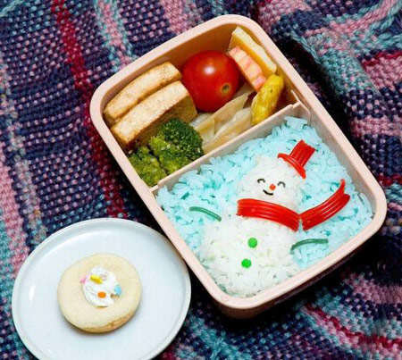 image ایده های جالب برای تزیین ظرف غذای بچه