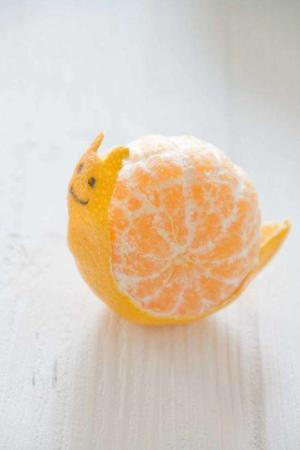 image عکس های جدید از تزیینات میوه پرتقال