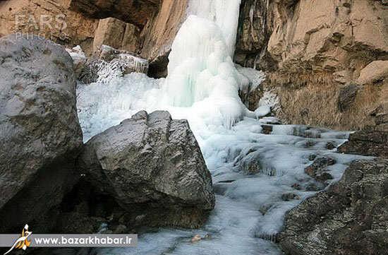 image عکس های دیدنی از آبشار شاهاندشت
