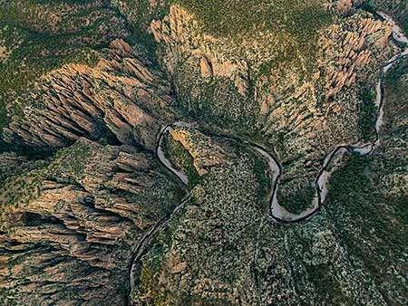 image نمای جنگل های ملی گیلا ایالت نیومکزیکو آمریکا