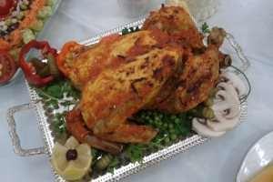 image چطور برای مهمانی مرغ شکم پر درست کنم