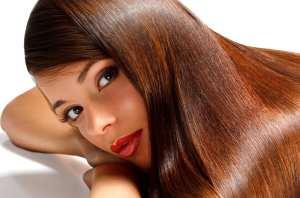 image آموزش صاف کردن مو های بلند در خانه