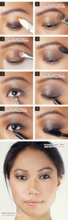 image, آموزش تصویری مدل های جدید آرایش چشم