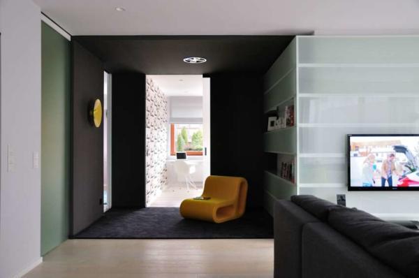 image, نقشه ساخت و دکوراسیون آپارتمان شیک و مدرن