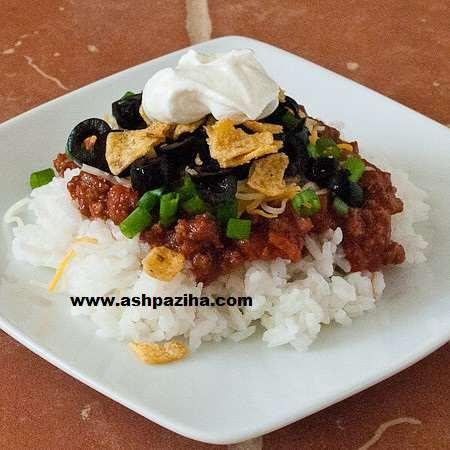 image آموزش پخت غذای مکزیکی با برنج