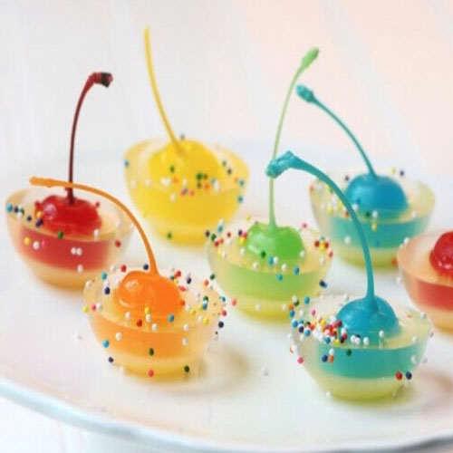 image مدل های جدید تزیین ژله برای مهمانی عید نوروز