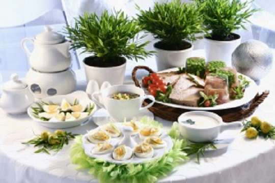 image چطور یک میز غذای شیک بچینیم