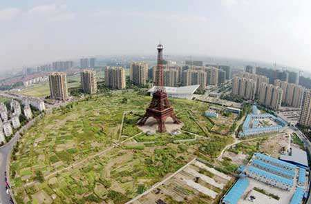 image, بدل ۱۰۸ متری برج ایفل پاریس در چین