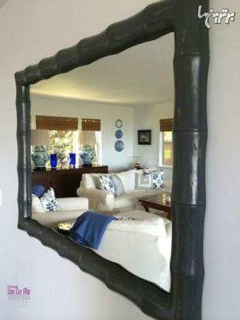 عکس, چطور با آینه دکوراسیون خانه را شیک کنیم