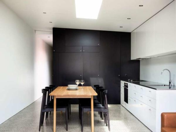 image, چیدمان شیک و ساده یک آپارتمان مستطیل کوچک