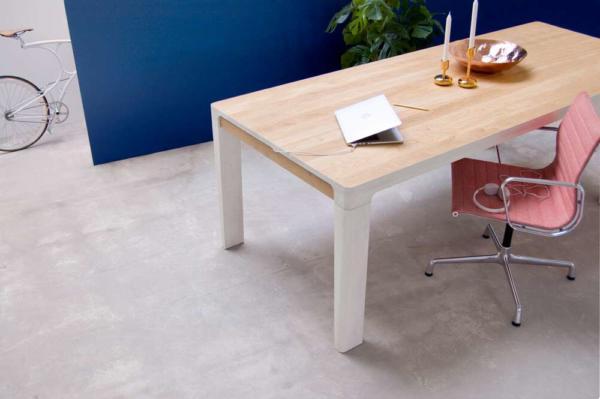 image, مدل میز لپ تاپ و موبایل با جای شارژر