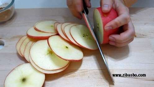image آموزش کامل تهیه چیپس سیب در خانه