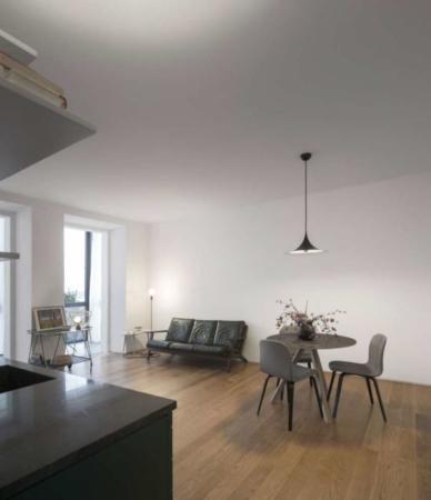 image, چیدمان شیک و ساده یک واحد آپارتمان کوچک