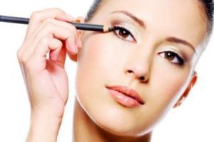 image, آموزش آرایش صورت های خسته و بیخواب