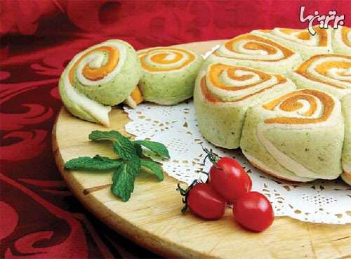 image عصرانه شیک و ساده برای مهمانی نان ریحان