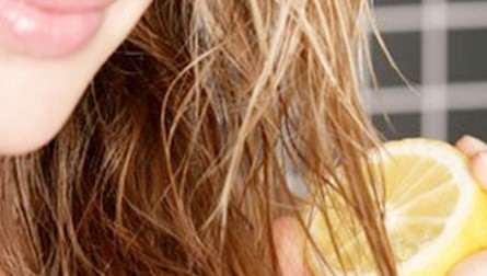 عکس, معجون جادویی آبلیمو برای درخشندگی موهای سر