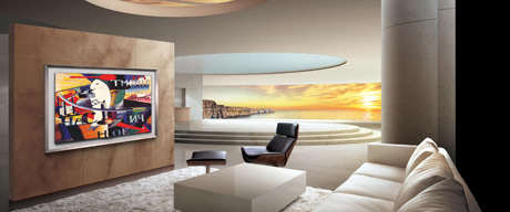 image چطوری تلویزیون ال سی دی را به دیوار نصب کنیم