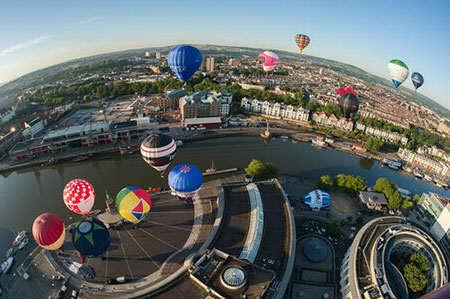 image عکسی زیبا از جشنواره بالن بریتانیا