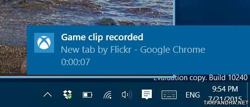 image, چطور در ویندوز ۱۰ از صفحه کامپیوتر فیلم بگیرم