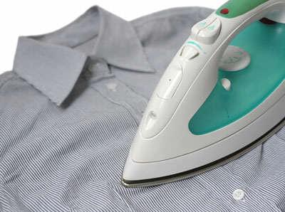 image آموزش اتو کشیدن پیراهن مردانه برای آقایان