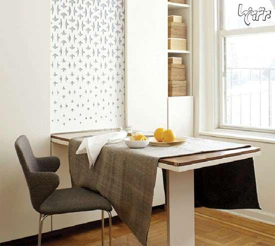 image راهنمای تصویری انتخاب میز غذاخوری برای خانه کوچک