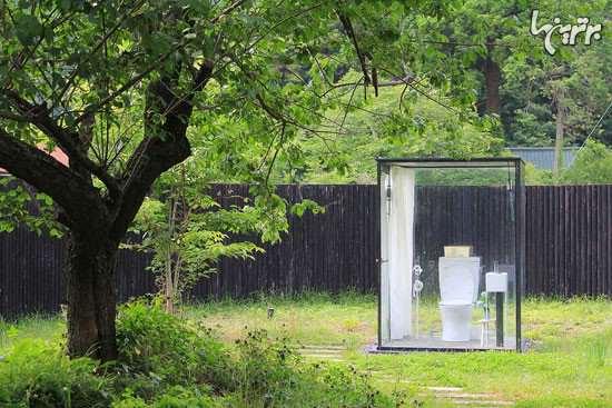 image, عکس های جالب توالت با دیوارهای شیشه ای