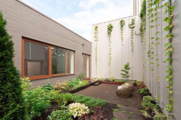 image, بهترین طراحی حیاط ۲۰ متری کوچک و باغچه شیک