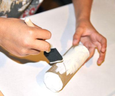 image آموزش تصویری درست کردن کاردستی بچگانه