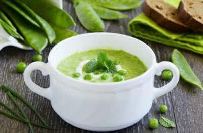 عکس, طرز پخت سوپ تابستانی آویشن برای پیش غذا