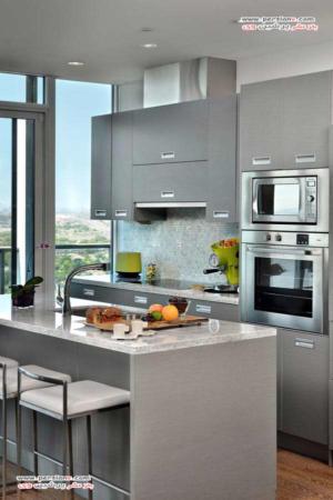 image مدل کابینت های شیک برای آپارتمان های کوچک