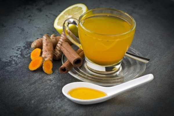 image, طرز تهیه چای زردچوبه معجون ساده سلامتی