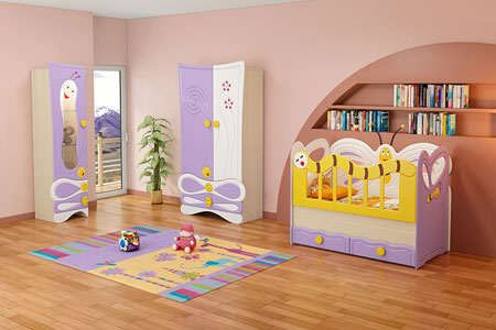 image شیک ترین سرویس خواب های بچه در اینترنت