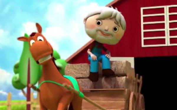عکس, دانلود تبلیغ پیرمرد مهربون اسب ناز داره