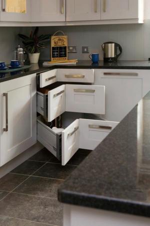 image آموزش طراحی کابینت برای گوشه های آشپزخانه