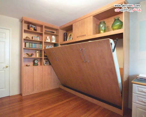 image, ایده های طراحی تختخواب های دیواری شیک و مدرن