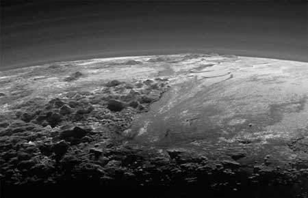 image, تصویر فضایی از کوهستان پوشیده از برف توسط ناسا