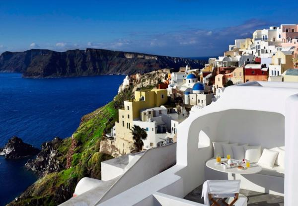 image, عکس های رویایی ترین هتل جهان در یونان جزیزه سانتورینی