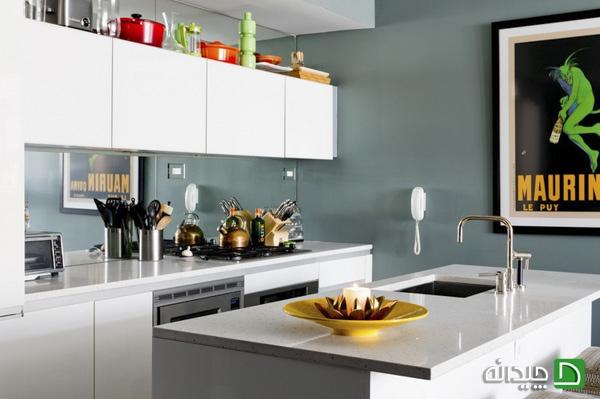 image, بهترین نکته های بزرگ نشان دادن آشپزخانه کوچک