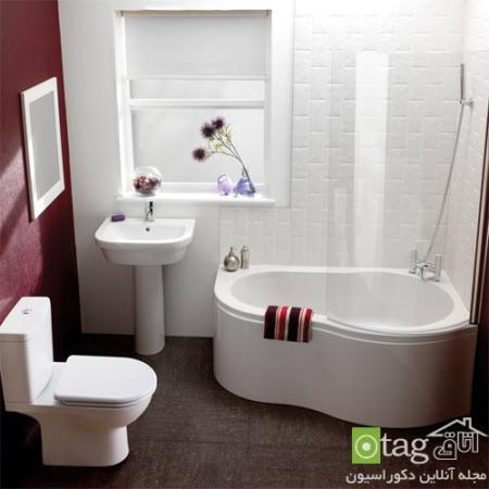 image ترفندهای بزرگ نشان دادن حمام و دستشویی کوچک