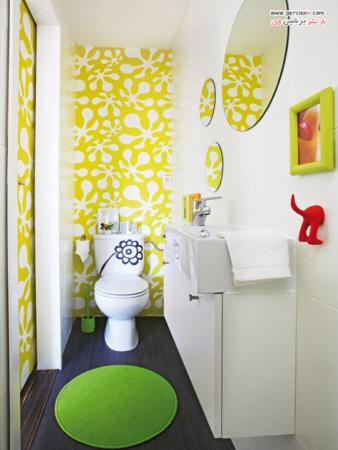 image, چطور حمام را برای بچه ها دکور و کودکانه کنیم