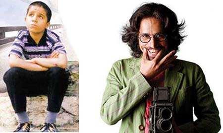image عکس های بامزه هنرپیشه هایی که بزرگ شدند