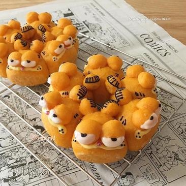 image, ایده های جالب شکل های کارتونی نان برای بچه ها