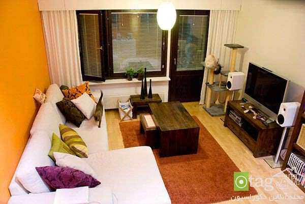 image, چطور اتاق اصلی آپارتمان های کوچک را دکوراسیون کنیم