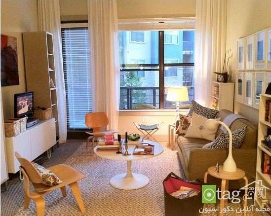 image چطور اتاق اصلی آپارتمان های کوچک را دکوراسیون کنیم