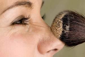 image, چطوری با آرایش بینی خود را کوچک نشان دهیم