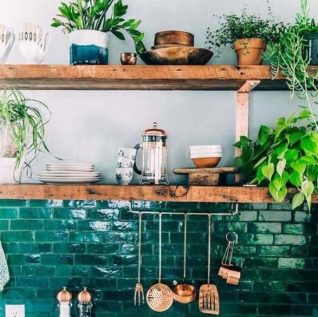 image, ایده های جالب و مدرن برای دکوراسیون آشپزخانه کوچک