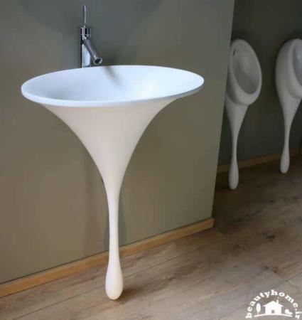 image, مدل های شیک و مدرن روشویی برای دستشویی